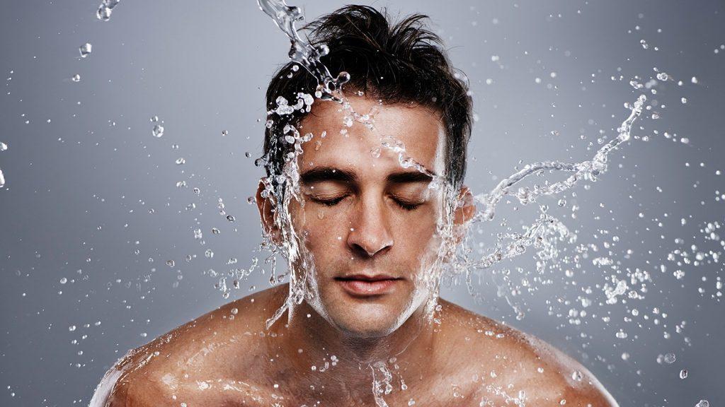 skincare steps for men