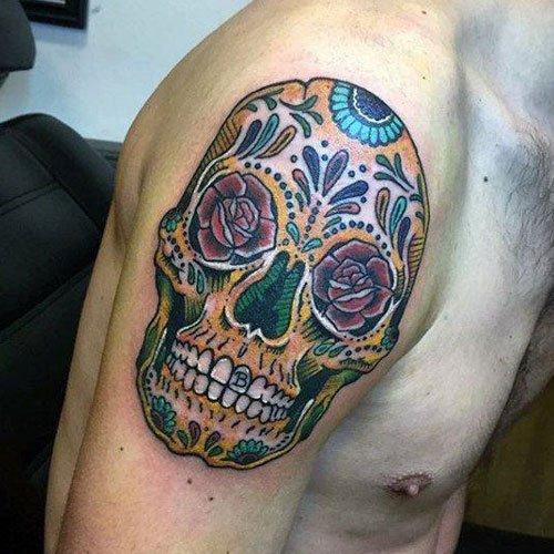 skull tattoos for men