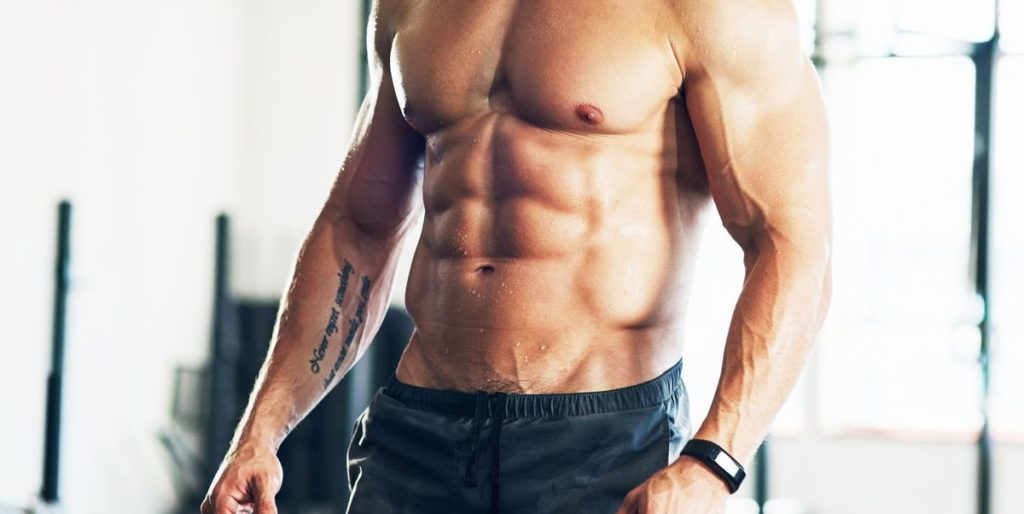 man with muscles