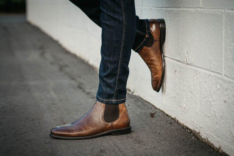 chelsea boot for men