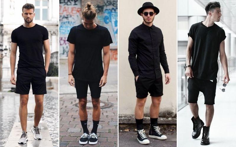 all black fashion for men