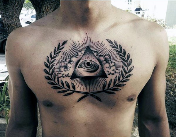 triangle tattoos ideas for men
