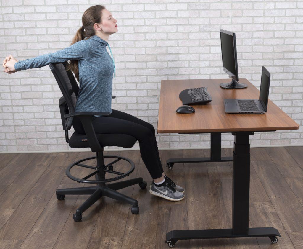 Chest/Shoulder Opener on desk
