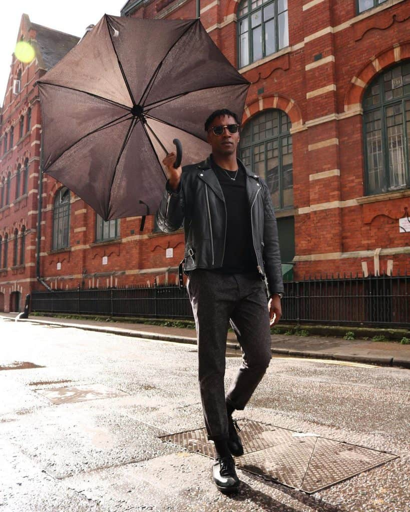 rainy day fasion for men
