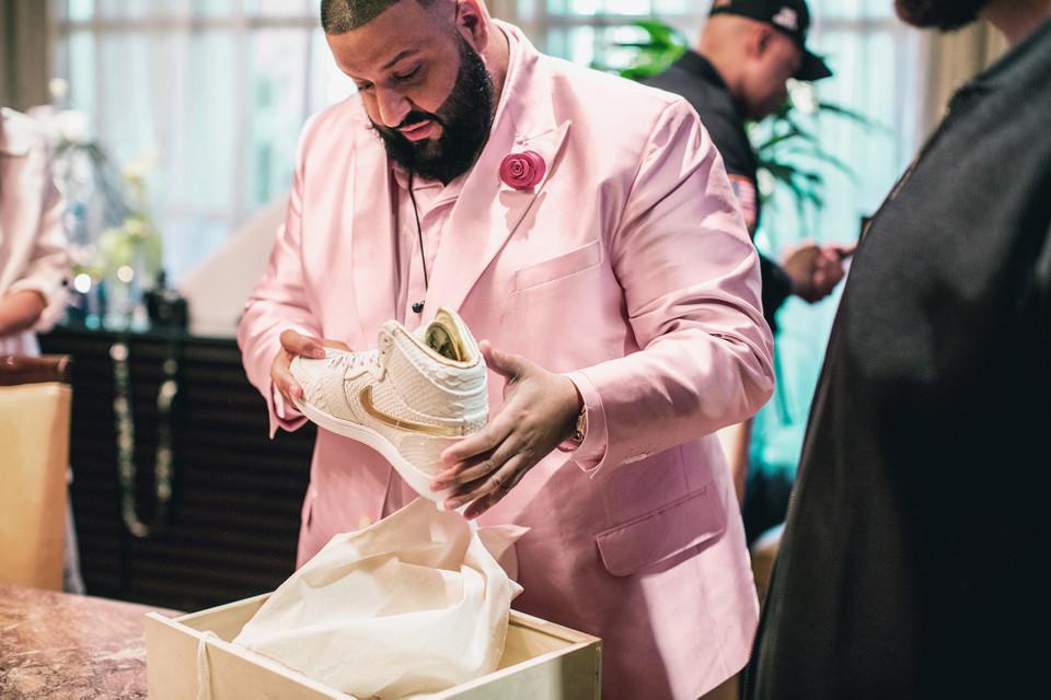 DJ Khaled x The Shoe Surgeon Air Jordan 1