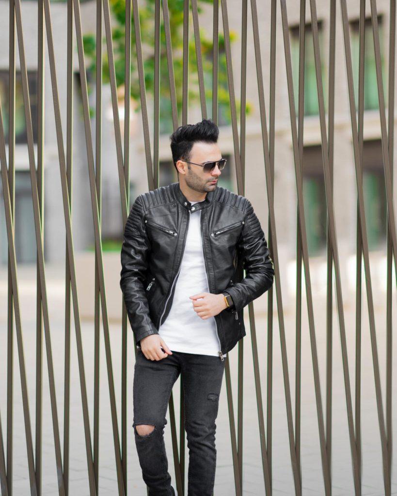 Dapper Leather Jacket Styles