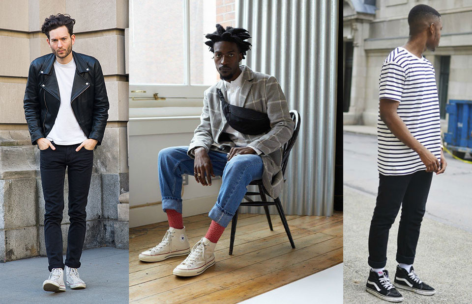 High-Tops With Jeans