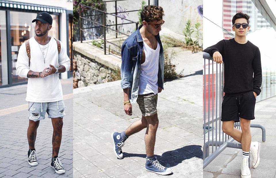 High-Tops With Shorts