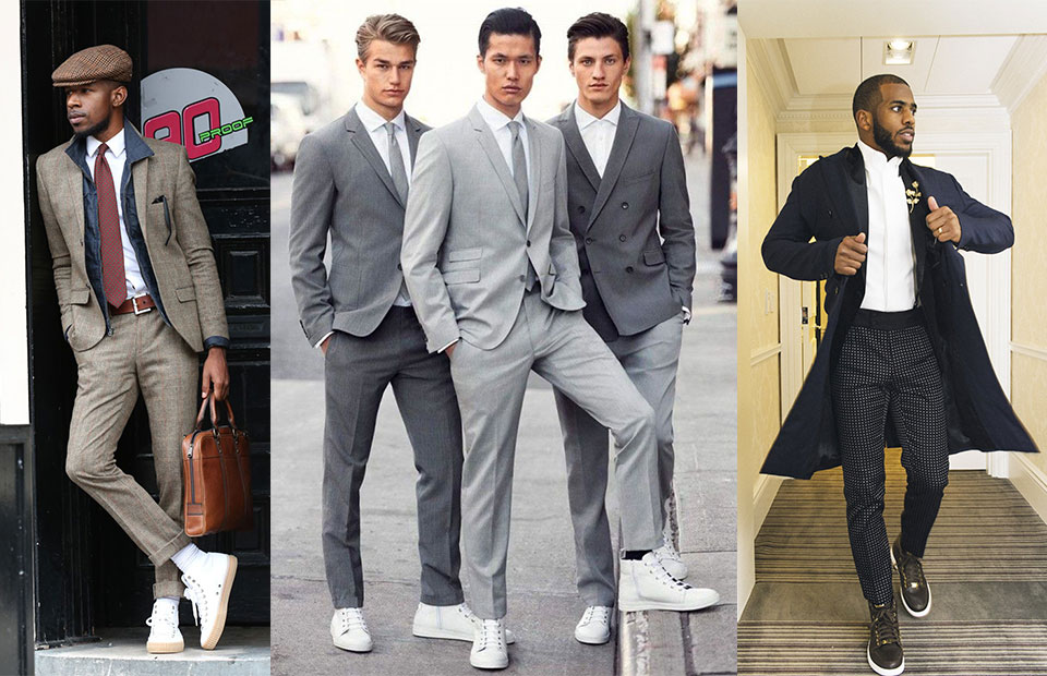 How To Wear High-Tops Formally