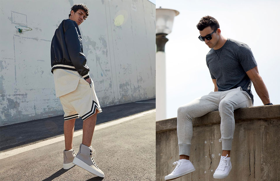 How To Wear High-Tops With Activewear