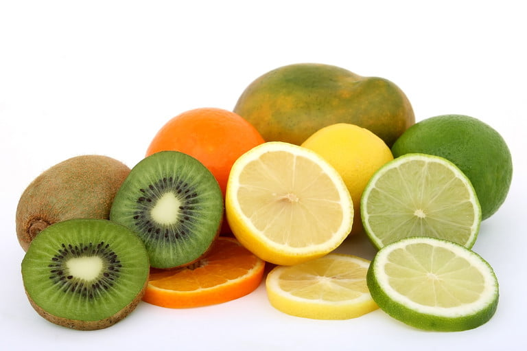 Kiwi and Citrus Fruits