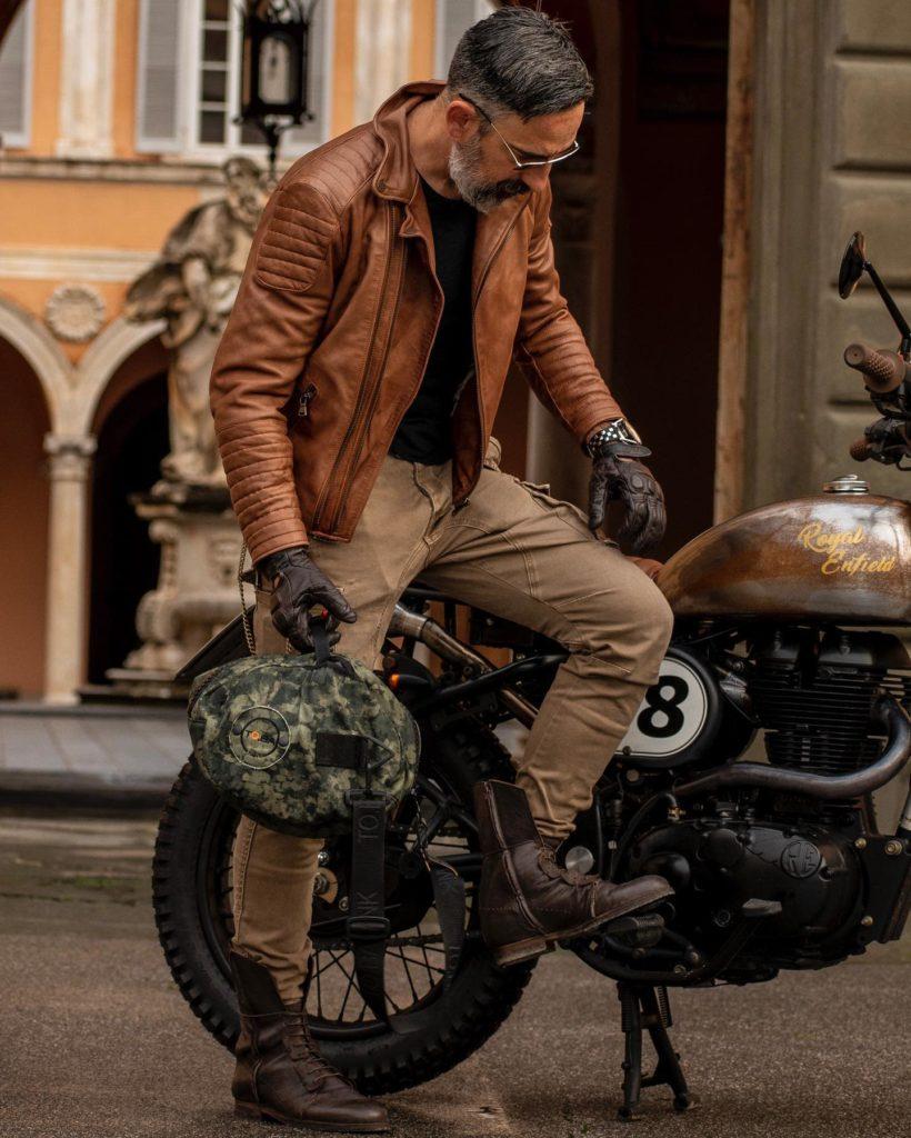 Rugged Leather Jacket Styles