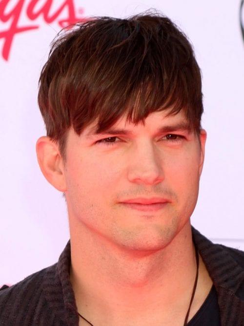 Ashton Kutcher's Mop Top Hairstyle