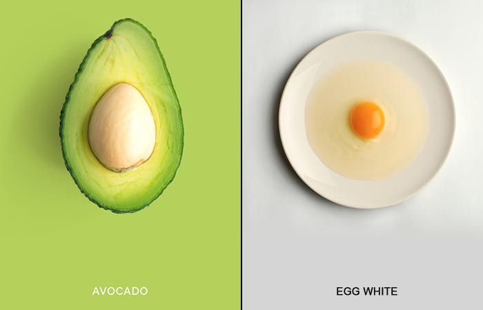 tips for men who want to care their face with egg white