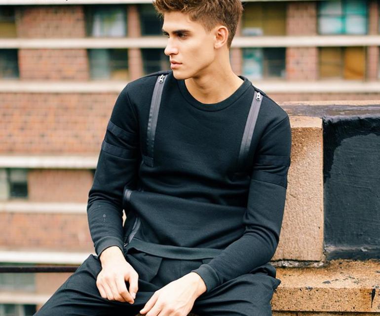 Black-sweatshirt