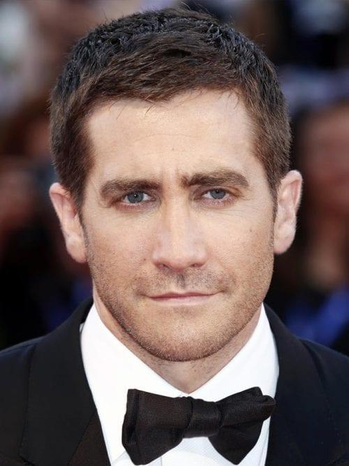 Jake Gyllenhaal's Textured Crop