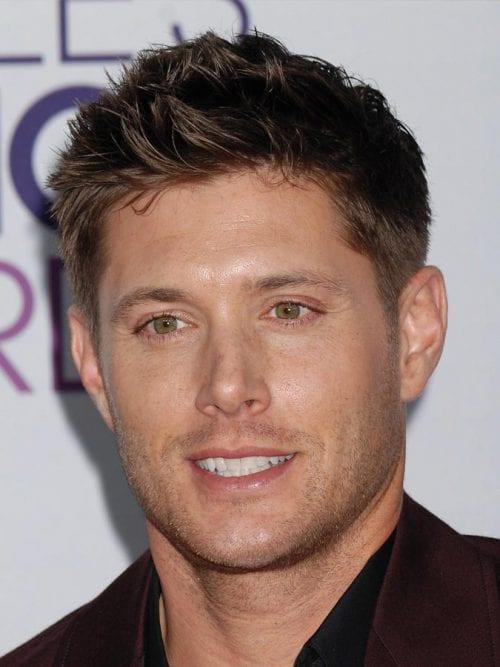 Jensen Ackles's Angular Hairstyle
