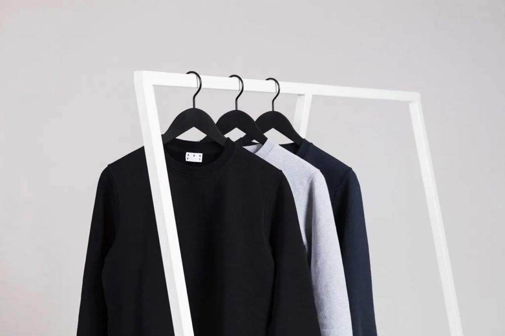 Sweartshirts hanging